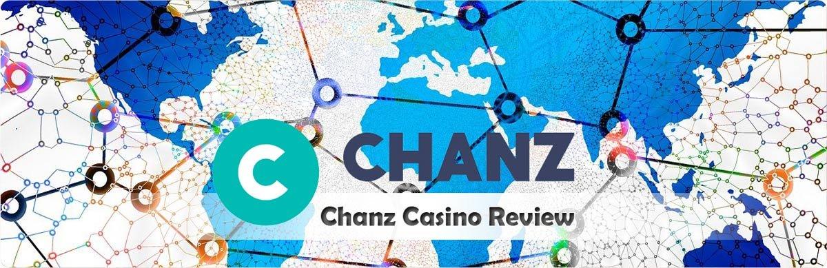 Chanz Casino Review header