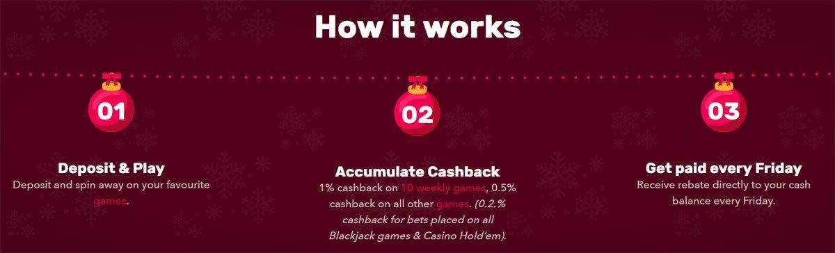 Rocket Casino Cashback