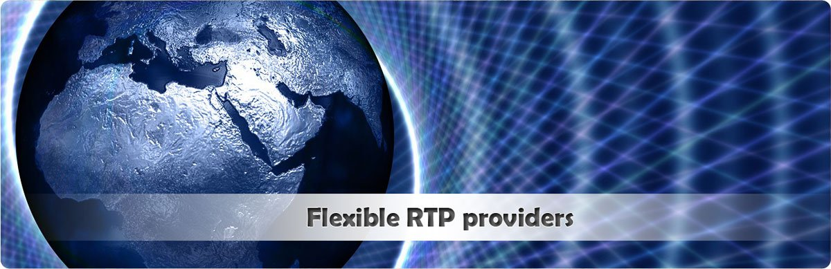 Which game providers offer casinos flexible RTP?